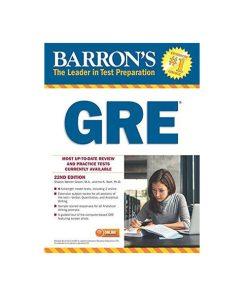 کتاب Barrons GRE 22nd edition