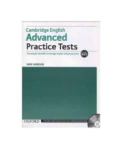 کتاب Cambridge English Advanced Practice Tests