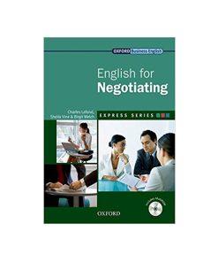 کتاب English for Negotiating