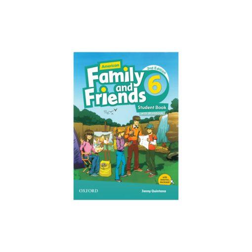 کتاب American Family and Friends 2nd Edition 6