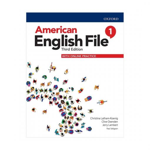 کتاب American English File 3rd Edition 1