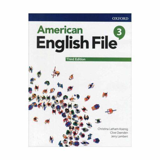 کتاب American English File 3rd Edition 3