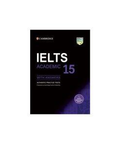 کتاب Cambridge IELTS 15 Academic