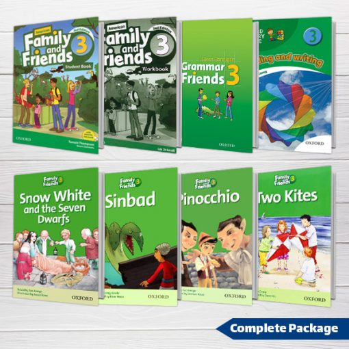 دوره کامل American Family and Friends 3 2nd edition