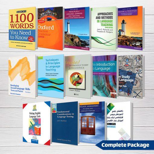 پکیج منابع کامل کنکور کارشناسی ارشد آموزش زبان