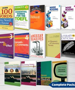 پکیج منابع کامل کنکور کارشناسی ارشد زبان و ادبیات انگلیسی