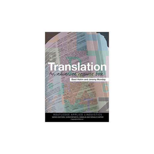 کتاب Translation an Advanced resource book