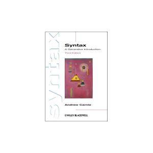 کتاب Syntax A Generative Introduction 3rd Edition