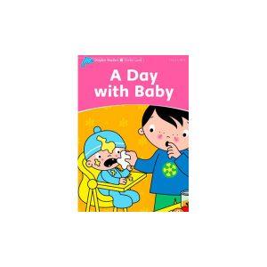 کتاب Dolphin Readers Starter Level: A Day with Baby