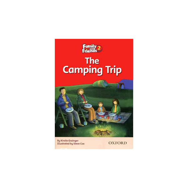 کتاب The Camping Trip Family and Friends 2