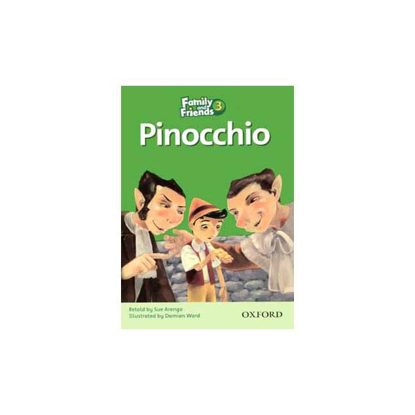 کتاب Pinocchio Family and Friends 3