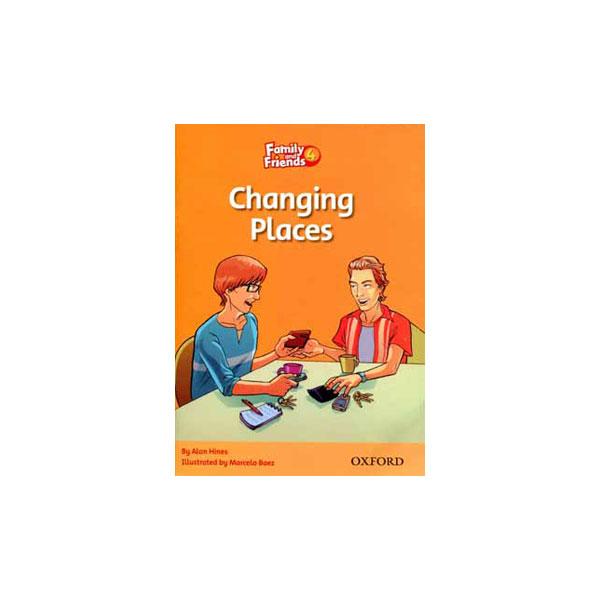 کتاب Changing Places Family and Friends 4
