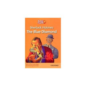 کتاب Sherlock Holmes The Blue Diamond Family and Friends 4