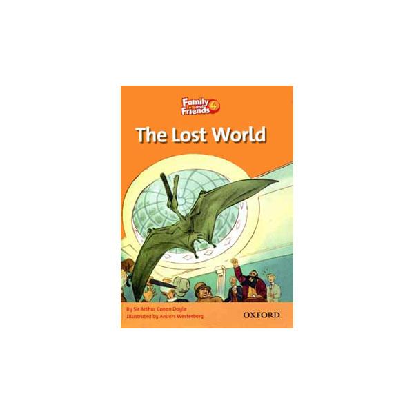 کتاب The Lost World Family and Friends 4