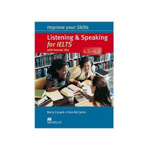 کتاب Listening and Speaking For IELTS 4.5-6.0