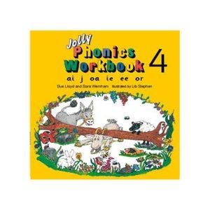 کتاب Jolly Phonics workbook 4