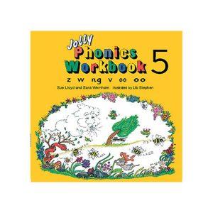 کتاب Jolly Phonics workbook 5