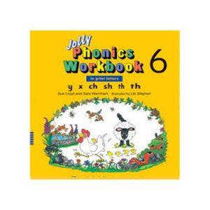 کتاب Jolly Phonics workbook 6