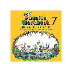 کتاب Jolly Phonics workbook 7
