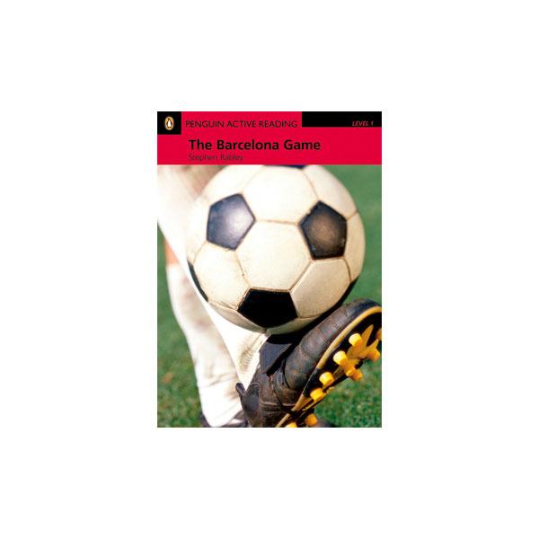 کتاب Penguin Active Reading Level 1: The Barcelona Game
