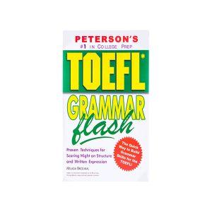 کتاب Peterson's TOEFL Grammar Flash