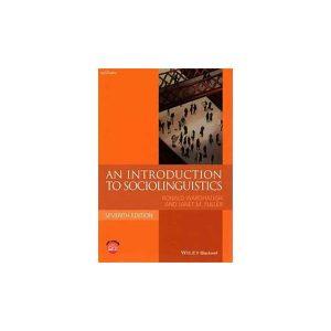 کتاب An Introduction of Sociolinguistics