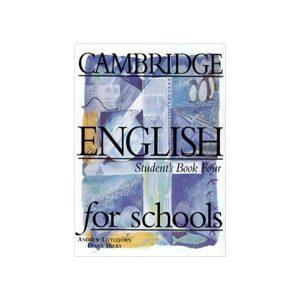 کتاب Cambridge English For Schools 4