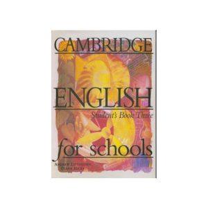 کتاب Cambridge English For Schools 3