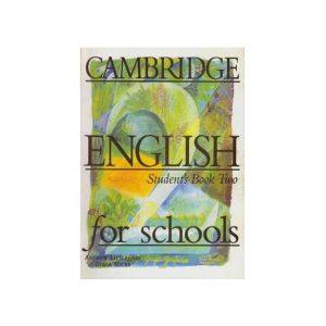 کتاب Cambridge English For Schools 2