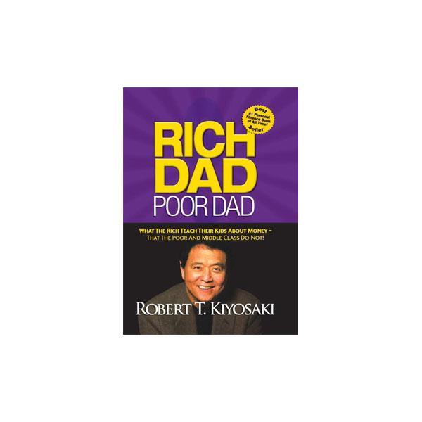 کتاب Rich Dad Poor Dad یا پدر پولدار پدر بیپول