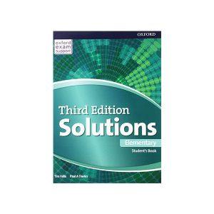 کتاب Solutions 3rd Edition Elementary