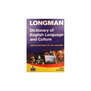 کتاب Longman Dictionary Of English Language And Culture