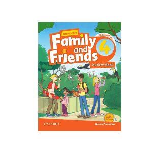 کتاب American Family and Friends 2nd Edition 4