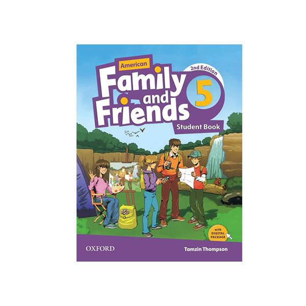 کتاب American Family and Friends 2nd Edition 5