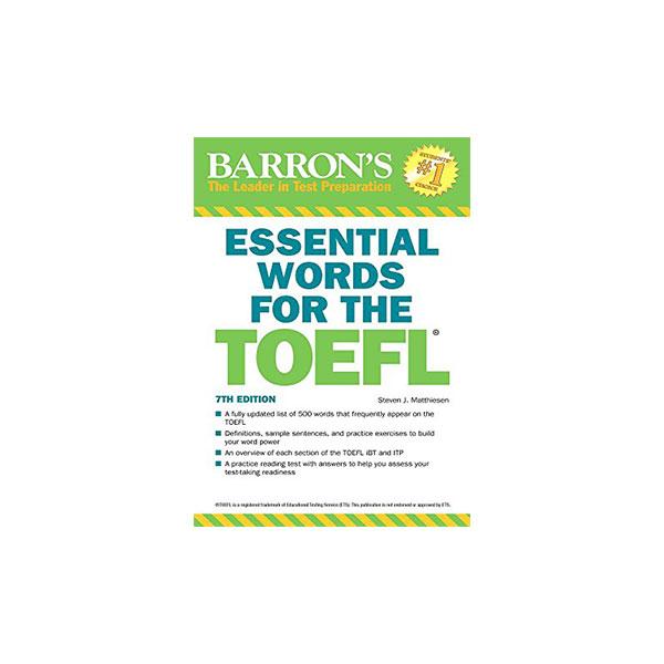 کتاب Essential Words for TOEFL 7th edition