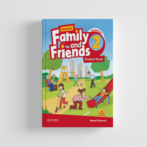 کتاب American Family and Friends 2nd edition 2 Student book