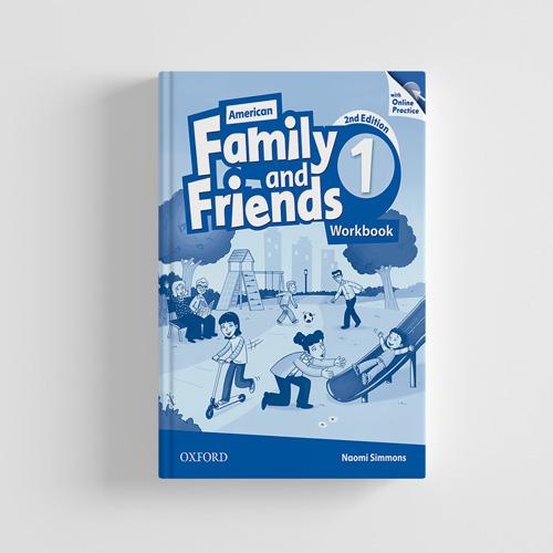 کتاب American Family and Friends 2nd edition 1 workbook