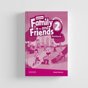 کتاب American Family and Friends 2nd edition 2 workbook