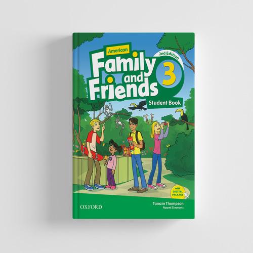 کتاب American Family and Friends 2nd edition 3 Student book