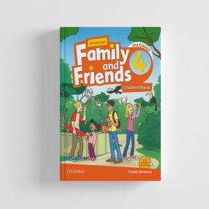 کتاب American Family and Friends 2nd edition 4 Student book