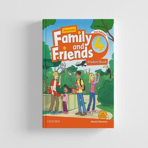 کتاب American Family and Friends 2nd edition 4 Student book