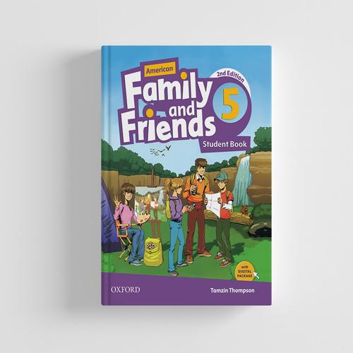 کتاب American Family and Friends 2nd edition 5 Student book