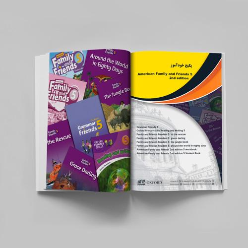 دوره کامل American Family and Friends 5 2nd edition