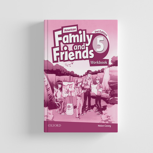 کتاب American Family and Friends 2nd edition 5 workbook