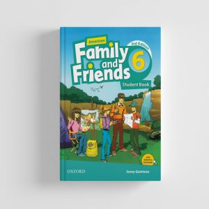 کتاب American Family and Friends 2nd edition 6 Student book