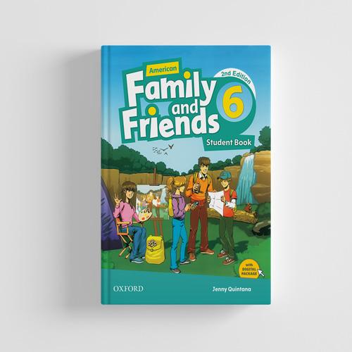 کتاب American Family and Friends 2nd edition 6 Student book