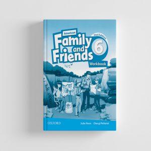 کتاب American Family and Friends 2nd edition 6 workbook