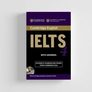 کتاب Cambridge IELTS 4