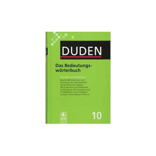 فرهنگ آلمانی-آلمانی Duden – Das Bedeutungswörterbuc