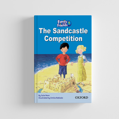 کتاب Family and Friends Readers 1 Sandcastle Competition